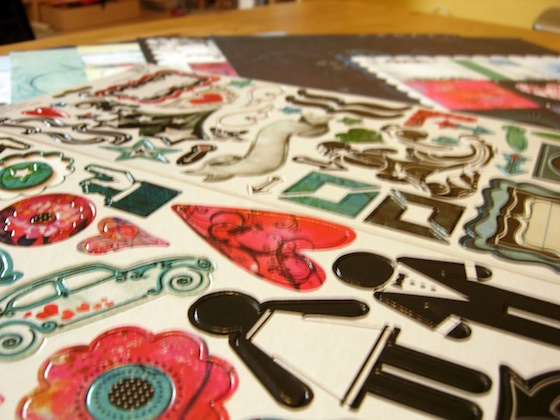 Bisous Chipboard